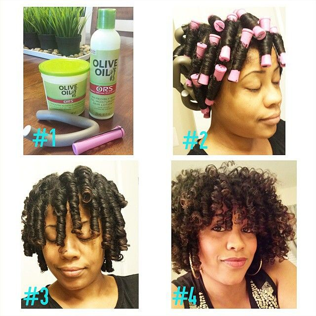 flexi rods natural hair styles instagram photo by protectivestyles protective 4914 | 88cd0068cf4fbd584c09d96a7b2d25ca