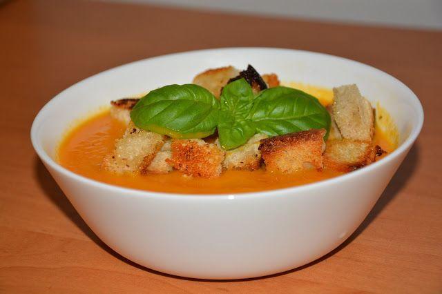 Zupa marchewkowa z imbirem :) idealna na jesień
