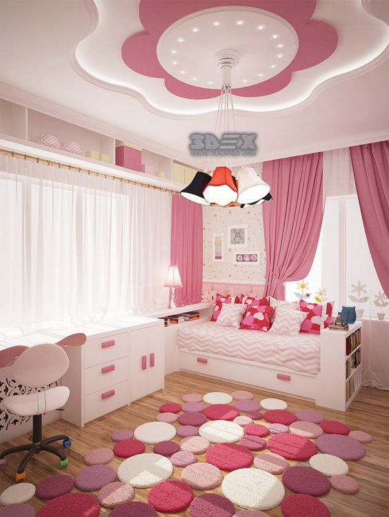 42 best Gypsum decor images on Pinterest | Bedroom kids, False ...
