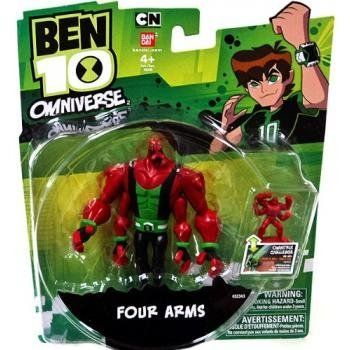 Ben 10 Ultimate Alien Super Four Arms by Ben 10. $8.51. From the Manufacturer The Omniverse has arrived and so has a new Omnitrix for Ben complete with all new aliens and fan favorites. - Gravattack figure is highly detailed and comes with accessory figure that works with the Omnitrix Challenge item #32405. Product Description The Omniverse has arrived and so has a new Omnitrix for Ben complete with all new al...