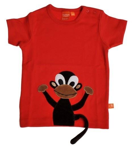 LipFish - T-skjorte Rød Monkey