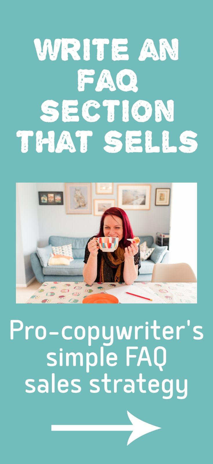 Follow this pro-copywriter's simple strategy to use your FAQs as a sales tool. Sales page tips, ideas and inspiration for entrepreneurs, solopreneurs and small business owners.