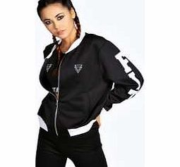 boohoo Slogan Bomber Jacket - black azz13180 Heavily influenced by the sportswear seen on the catwalk, this all new collection comes with an athletic streak. Watch out for high impact pieces that'll get you noticed at the gym, and put your every http://www.comparestoreprices.co.uk/womens-clothes/boohoo-slogan-bomber-jacket--black-azz13180.asp