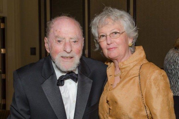 Bob Simon and wife Cheryl Terio Simon