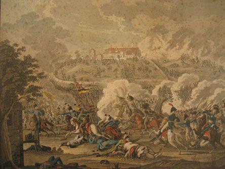 The Battle of Elchingen, capturing the town 1805