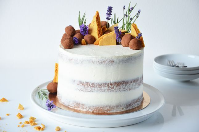 Kublanka vaří doma - Narozeninový dort Zahrádka