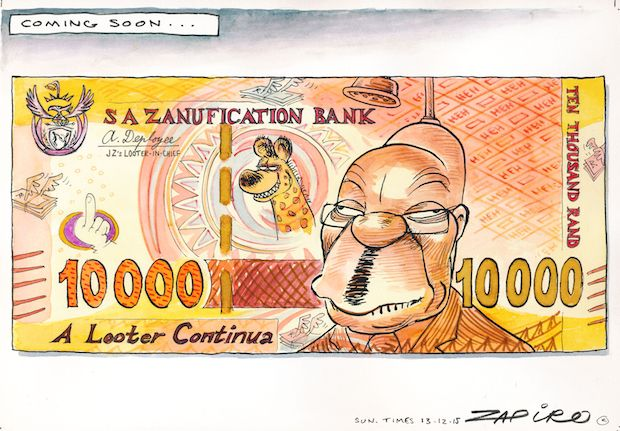 Will the South African Rand go the same way as the Zimbabwean Dollar?