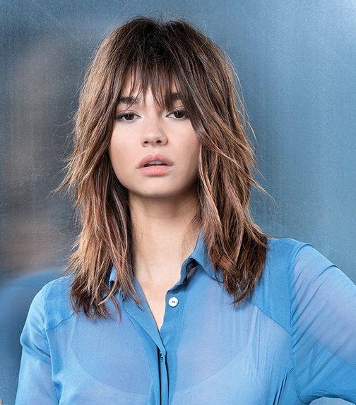 Francesca Chillemi capelli: il nuovo taglio medio long bob shag