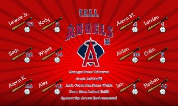 Los Angeles Angels of Anaheim Baseball Banners - Los Angeles Angels of Anaheim Baseball Banners