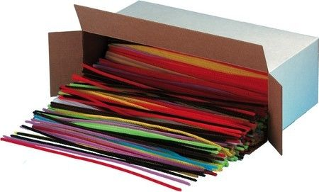 Limpadores de cachimbo coloridos - para feltragem e artesanato