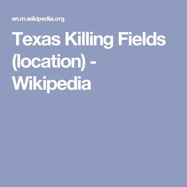 Texas Killing Fields (location) - Wikipedia