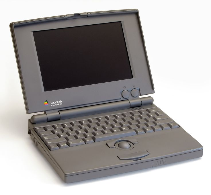 PowerBook 100 1991,  Motorola 68000 16 MHz,  Memory 2 to 8 MB
