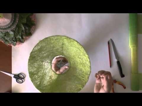 "Флористика Как сделать каркас для букета #3 ""Зимний"" (Мастер класс) - YouTube"