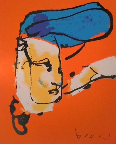 Blauwe Kuif | Herman Brood | http://www.yookoo.nl/collections/online-galerie/products/blauwe-kuif