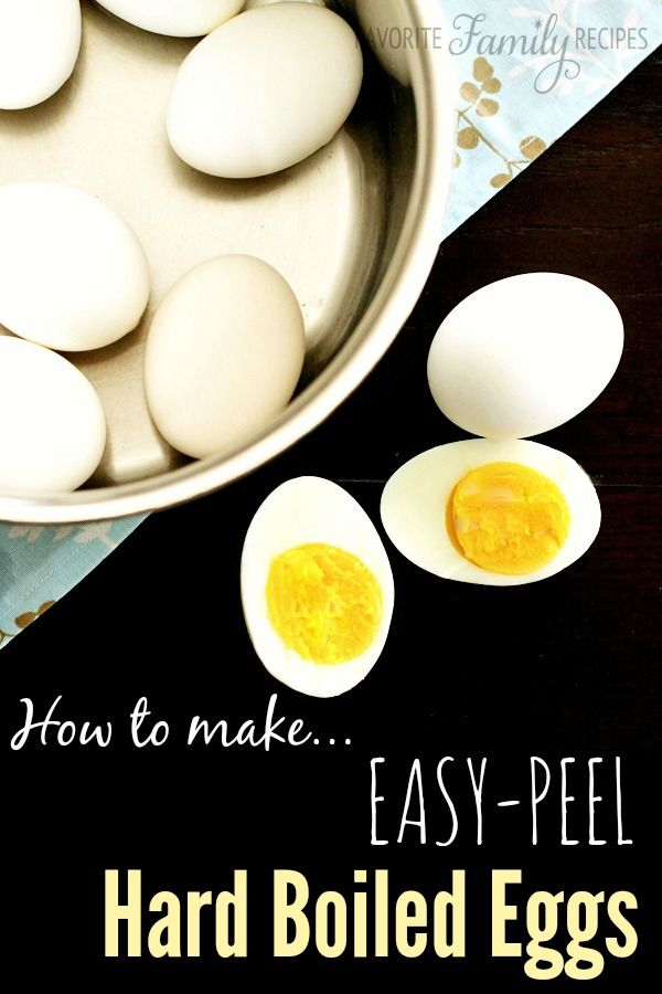 Tricks to getting an easy-peel for hard boiled eggs!