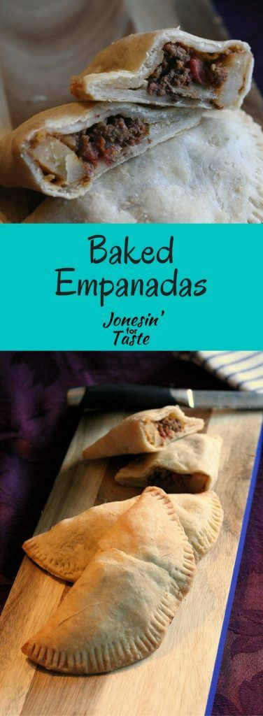 Homemade empanadas are full of amazing flavor stuffed with ground turkey, corn, potatoes, and can be baked or fried.
