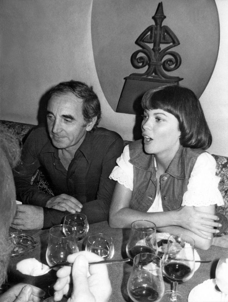 Mireille Mathieu et Charles Aznavour