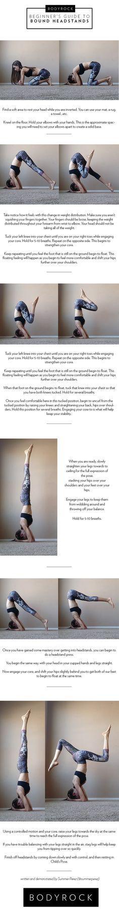 No te pierdas este tutorial de yoga para hacer el pino. ¡Seguro que lo consigues!