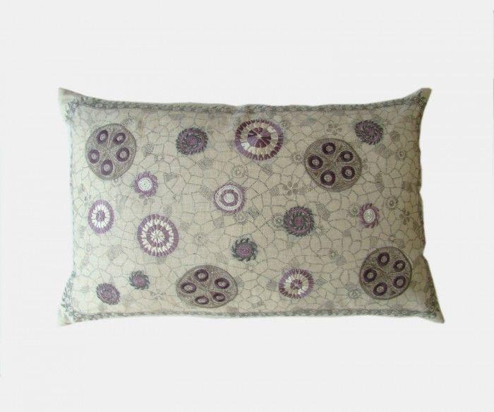 Azibal - Lavender Cushion   William Yeoward