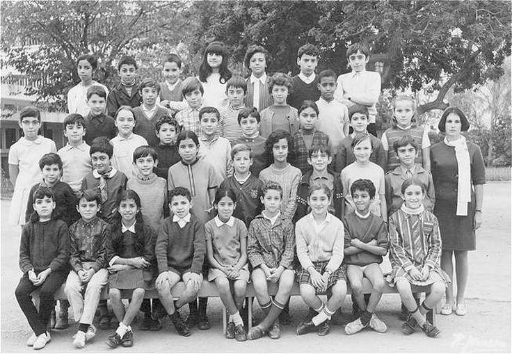Photo de classe CM2 1968-69 de 1969, LYCEE LYAUTEY - Copains d'avant- Avis de décès de Louis Pimienta-Diribarne.