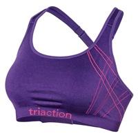 Triaction Women's Seamfree Crop Top - Purple