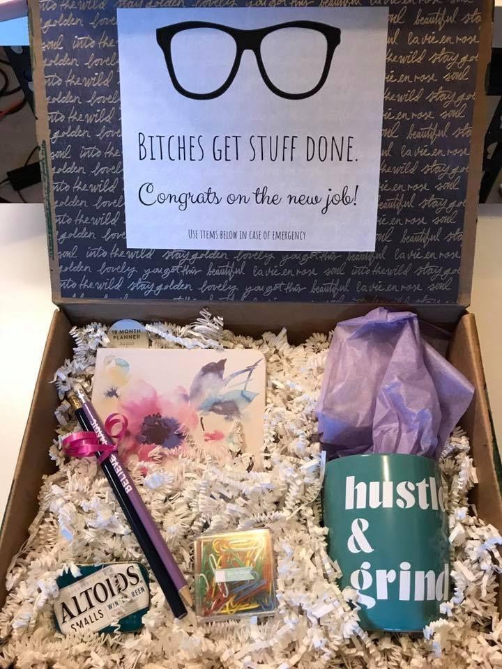 New Job/Graduation Gift Box, 2020 Fikirler