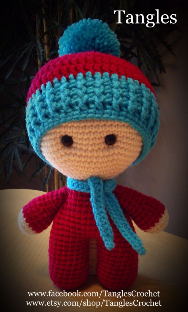Winter Baby Big Head Baby Doll Amigurumi * Dolls ...