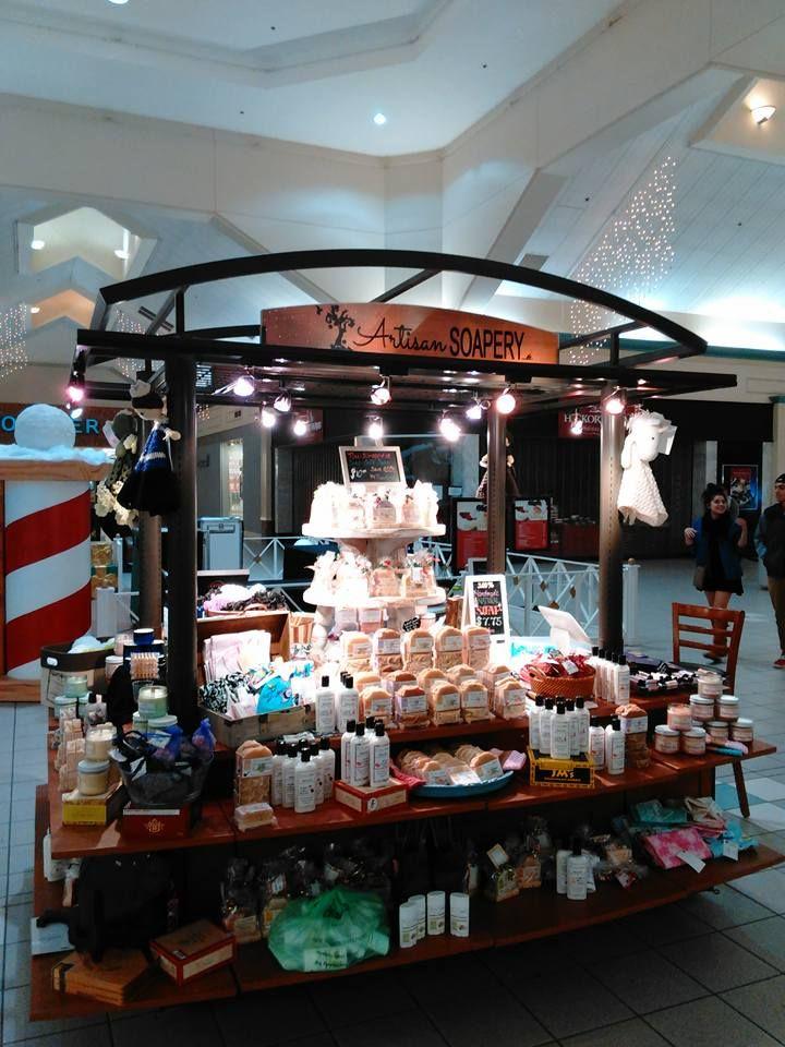 Mall kiosk display