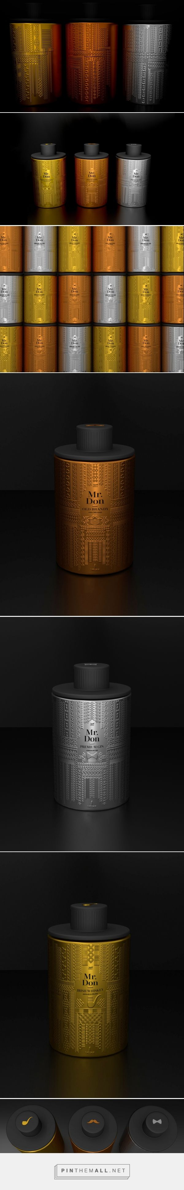 Mr. Don - Sandeman - Packaging of the World - Creative Package Design Gallery - http://www.packagingoftheworld.com/2017/11/mr-don-sandeman.html - created via https://pinthemall.net