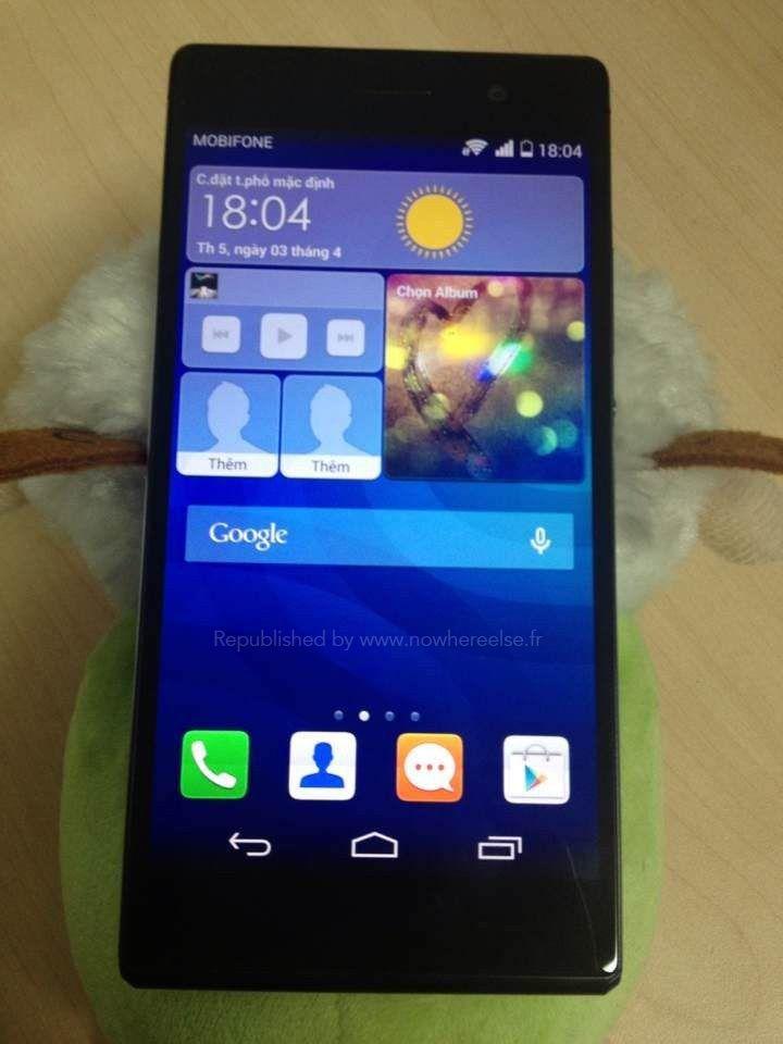Huawei Ascend P7 apare în noi imagini, aduce cu un Xperia   ► http://mbls.ro/1lDf7cZ  Autor: Radu Iorga   #huawei #ascendp7 #telefoane