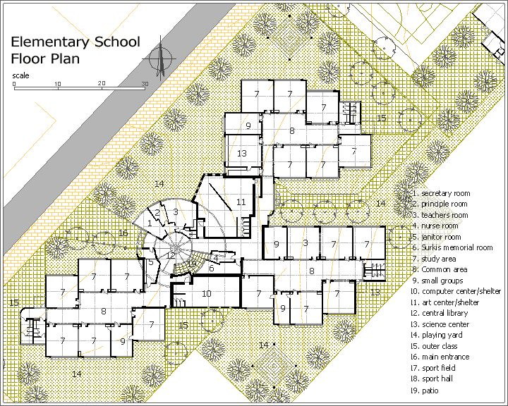 Elementary school building design plans surkis for Building design website