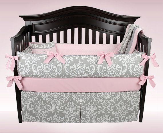 KAITLYN 5 Piece Baby Bedding Set | For a Limited Time - Free Diaper Stacker Included