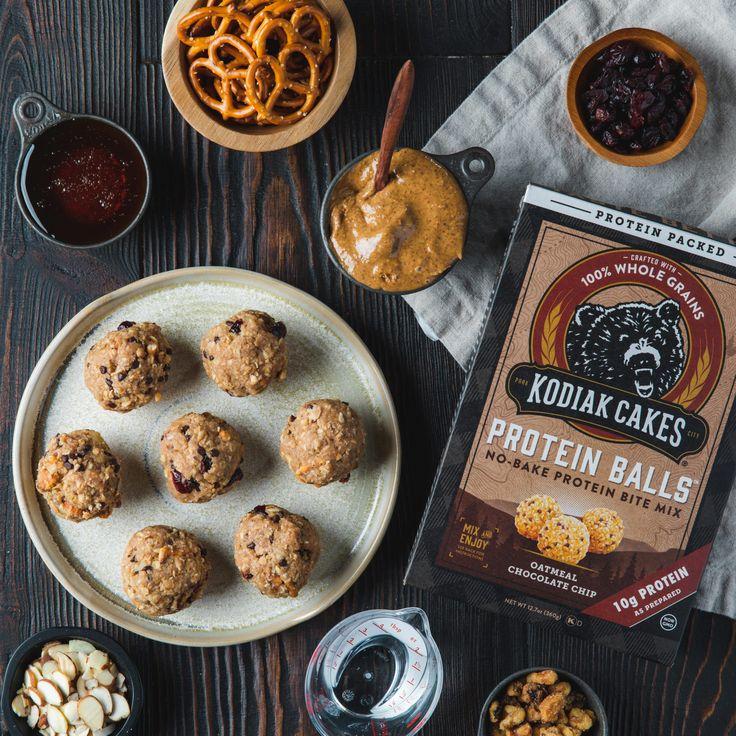 Everything but the kitchen sink protein balls kodiak