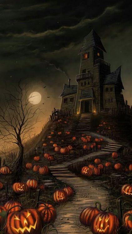 Jack O' Lantern Trail To The Castle...