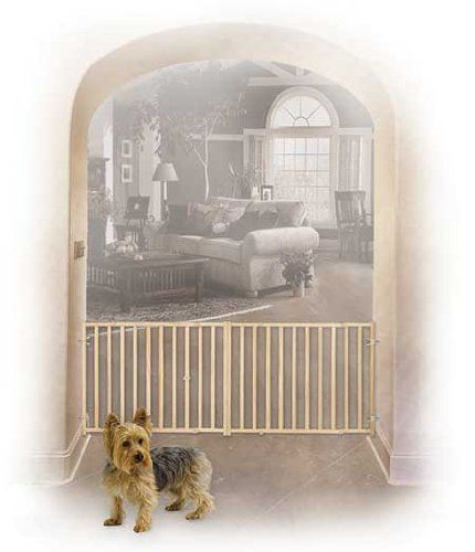 Midwest Pet Gate 53-Inch to 96-Inch w by 24-Inch Tall Pet Supplies Near Me