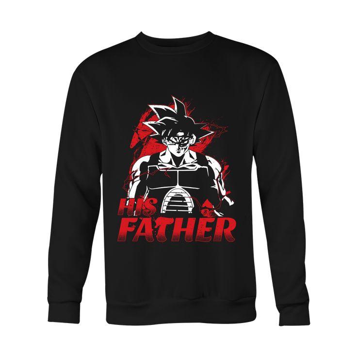 Super Saiyan Bardock Dad Sweatshirt T Shirt - TL00517SW