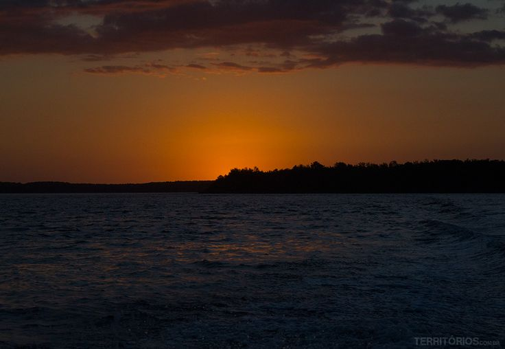 Foto da Semana #Sequência V - Pôr do sol no Delta do Parnaíba