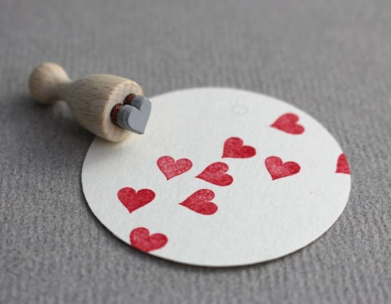 Stamp Heart mini
