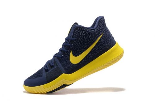 Purchase Nike Kyrie 3 Cavs Dark Obsidian Yellow Mens Basketball Shoes For  Sale - ishoesdesign 7d2ce0f04