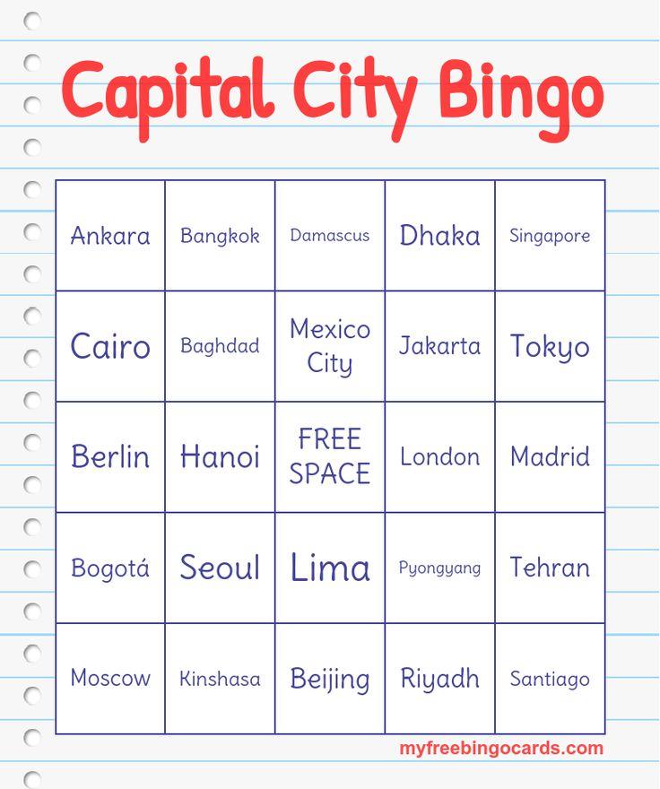 Capital City Bingo