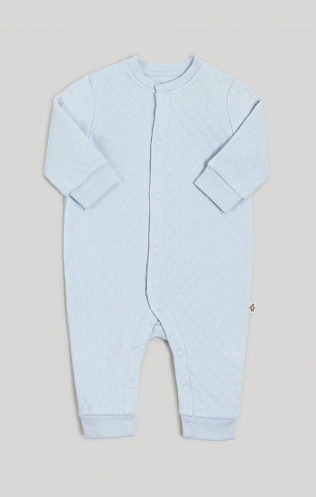 1439b89dbce8 Snugabye Baby Boy Dream Cozy Quilted Jumpsuit  baby  babywear ...
