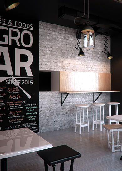 Restaurant design and bar design in Gliwice POLAND - archi group.  Restauracja - bar w Gliwicach.