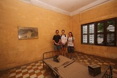 This former school was used as a prison by Pol Pot's security forces and became the largest centre for detention and torture during the rule of the Khmer Rouge. #VietnamSchoolTours #Cambodia #PhnomPenh