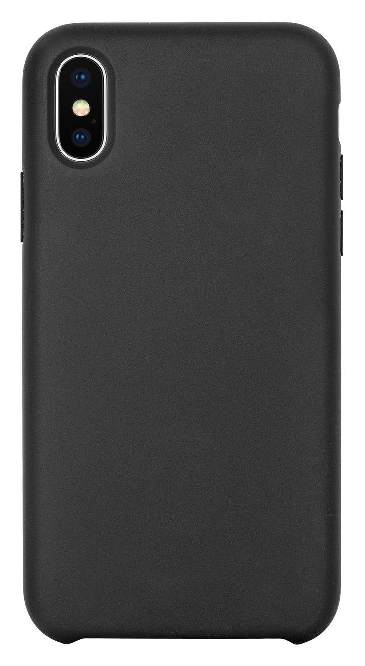 TPU Case matt schwarz (iPhone X) - Das hochwertige TPU Case ist mit Sorgfalt verarbeitet worden und gewährt durch die passgenauen Aussparungen einen problemlosen Zugriff auf alle Bedienelemente und Anschlüsse. Innen schützt ein Futter aus Mikrofaser das Handy. Und um dein Handy kabellos zu laden, musst du das Case nicht abnehmen.