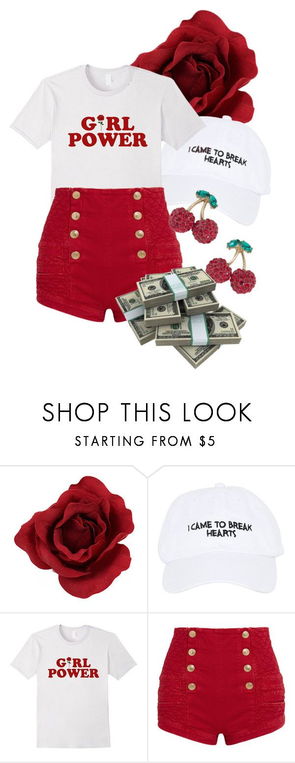 """Untitled #403"" by sarahs884 ❤ liked on Polyvore featuring Nasaseasons, Pierre Balmain and ABS by Allen Schwartz"