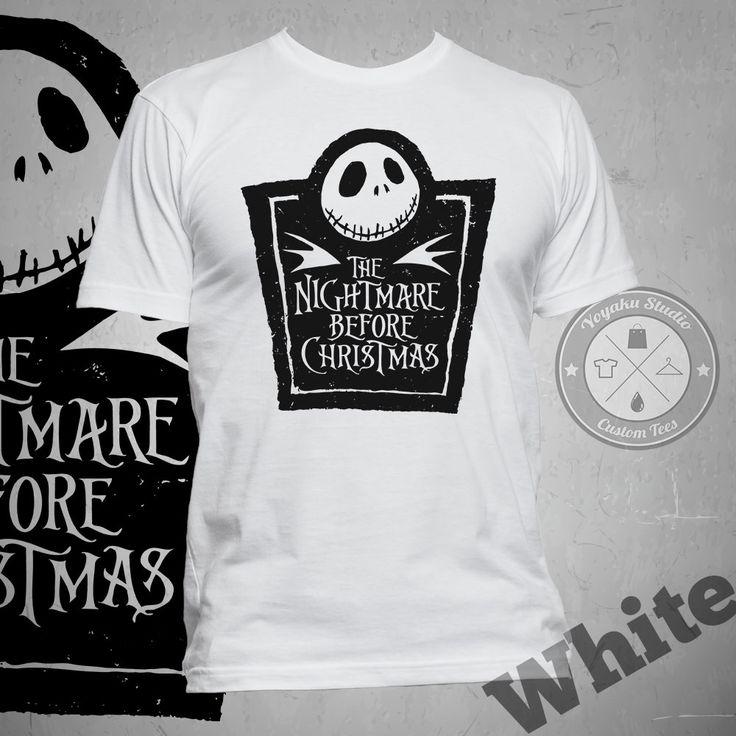 "Jual Kaos ""The Nightmare Before Christmas"" (Title 1) - Yoyaku Shop | Tokopedia"