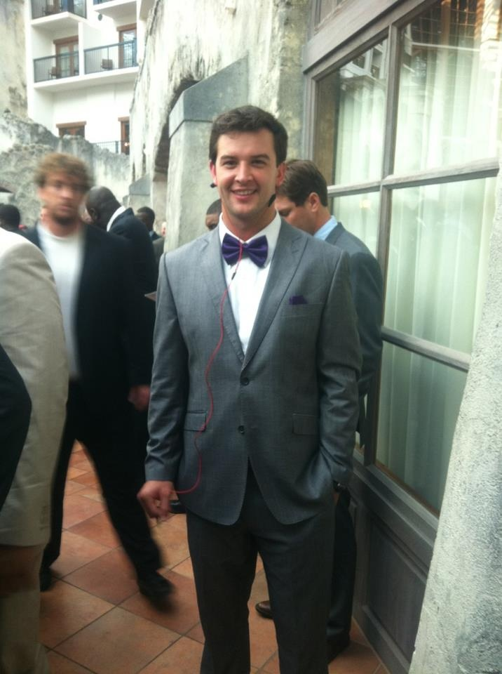 Aj mccarron alabama qb arriving in dallas bow ties are for Ryan fitzgerald tattoo