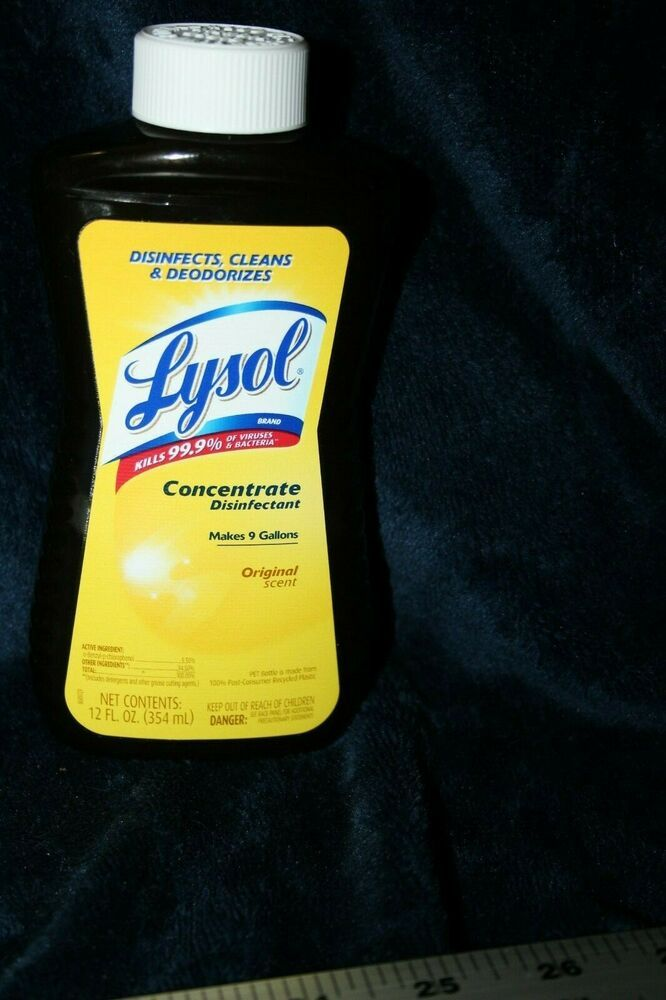 Lysol Concentrate 12oz Makes 9 Gallons Original Scent Lysol Lysol Barn Wood Picture Frames