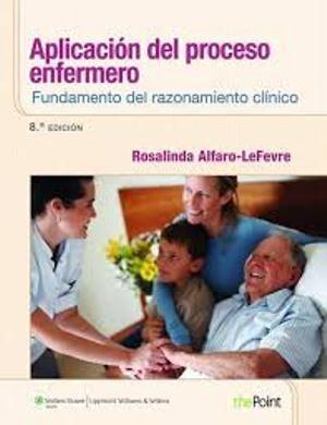 Aplicación del proceso de enfermería: fundamento del razonamiento clínico se centra en la aplicación del proceso de enfermería, en el método de atención al paciente que sirve como marco para aplicar los cuidados de enfermería. Tanto el juicio clínico (aplicar los conocimientos y la experiencia a una situación clínica para desarrollar una solución) como el pensamiento crítico en enfermería (concepto más general que incluye el juicio clínico. N° de clasificación: 610.73 A385a 2014.