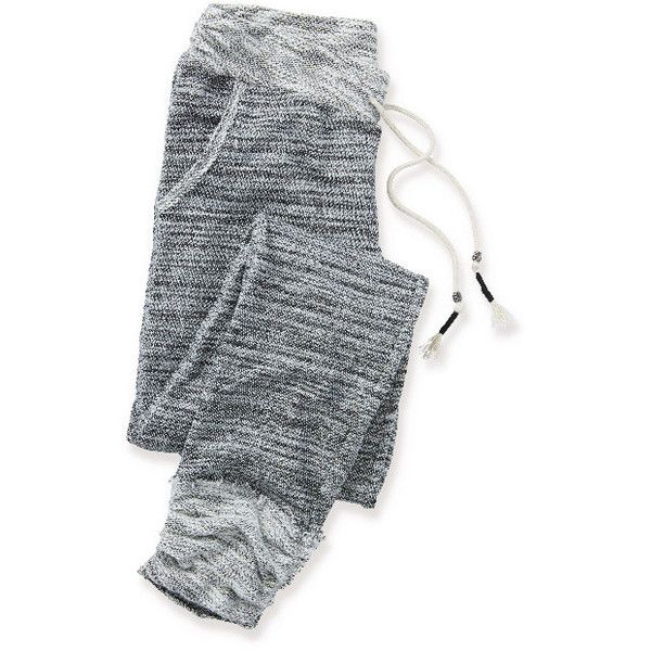 marled jogger sweatpant ($29) ❤ liked on Polyvore featuring activewear, activewear pants, pants, bottoms, pajamas, jogger sweatpants, sweat pants, jogger sweat pants and maurices
